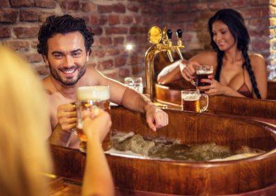 Salt, Beer, Flower Bath Spa 50 €